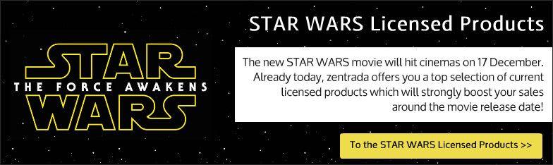 Display Lizenzartikel STAR WARS