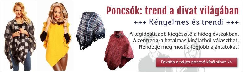 Display Fashion Ponchos