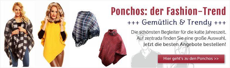 Display Fashion Ponchos