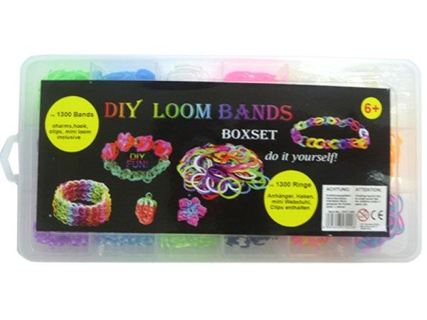 Loom bandes<br> Starter Set Loom<br>Box ca.1300