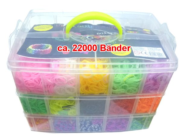 Loom Box 22000 pcs<br>de Bänderset XXXL.