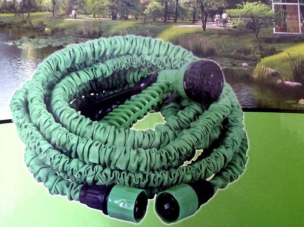 Gartenschlauch mit<br>Düse 15m