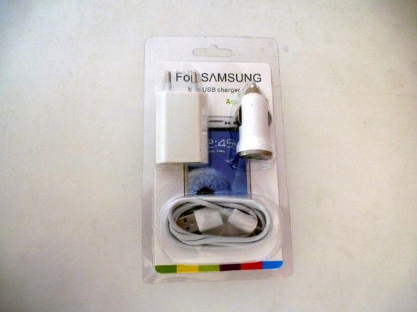 Samsung / Sony<br>Handy Aufladegerät