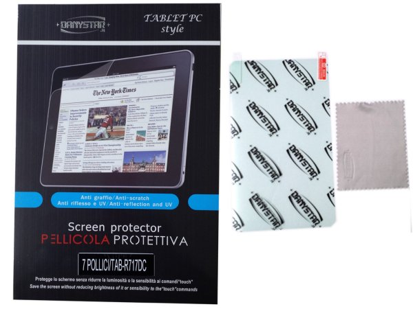 Screen Protector<br> for Tablet PC 9<br>inches