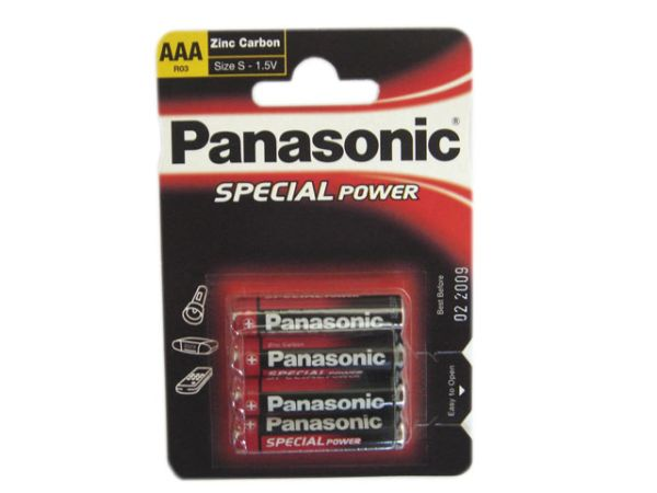 Panasonic battery R3