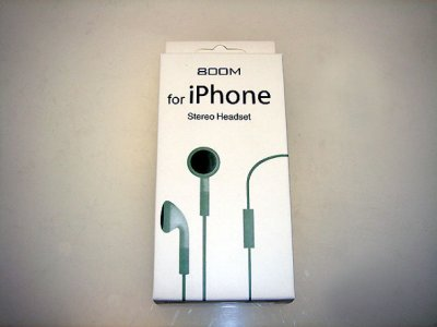 Iphone headphones with microphone