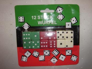 Würfel Spielwürfel 12er
