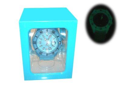 Guarda orologio da<br> polso in silicone<br>Trenduhr