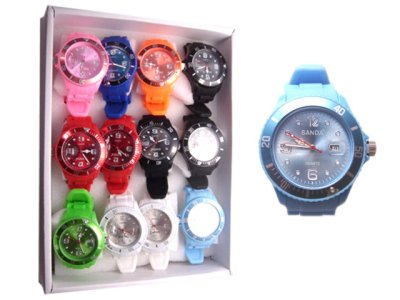 Silicone watch<br>wrist watch