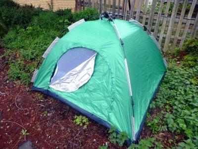 Automatisches Zelt