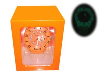 Watch Silicone<br>Wristwatch Trenduhr