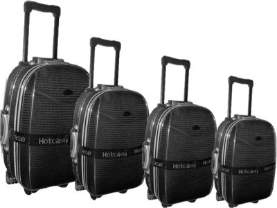 Travel suitcase<br>8858-4 black