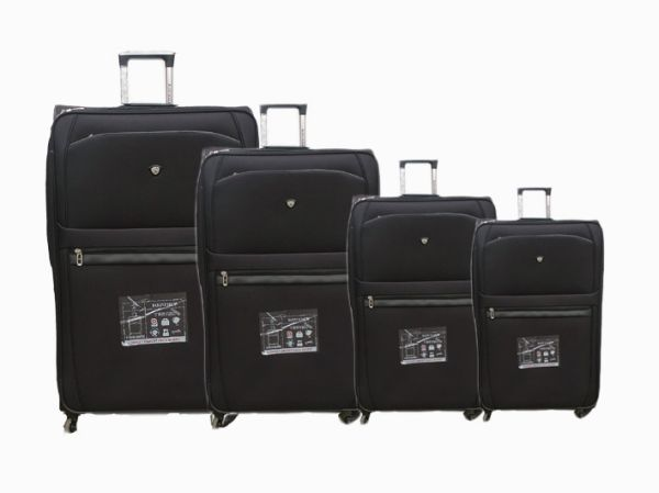 Reisekoffer 4er<br>9380-4 schwarz