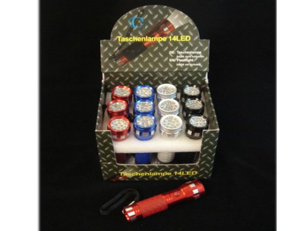 14LED flashlight<br>in Dispaly