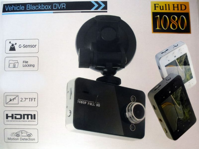 Full HD Car Video Camera