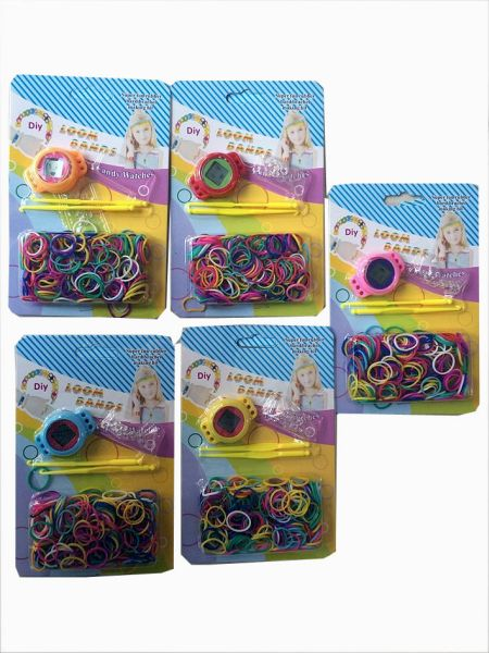 loom bands, DIY<br> clock loom bands,<br>200 rings