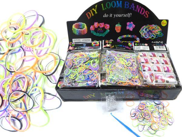 Loom bandes, 200<br> pièces, couleurs 2<br>rangées