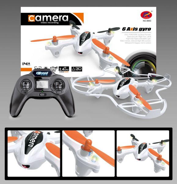 RC Quadcopter<br>2.4GHz with camera