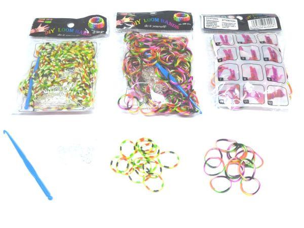 DIY Loom telaio<br> bande elastici,<br>200 bande