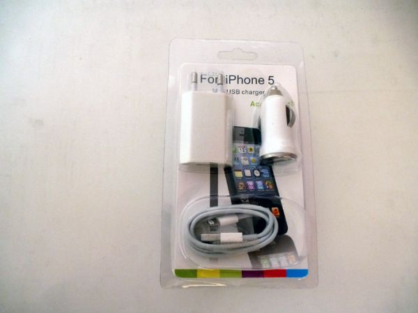 Charger for iphone 5
