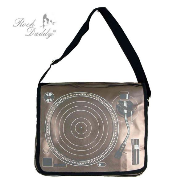 Record player bag<br>in bronze