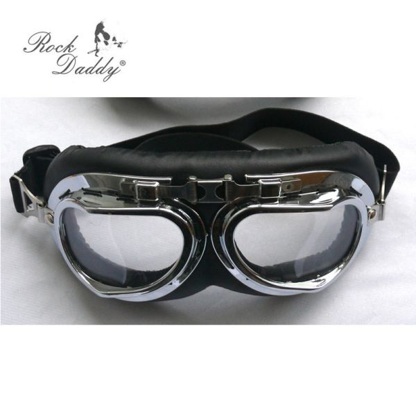 Motorcycle goggles<br>transparent glasses