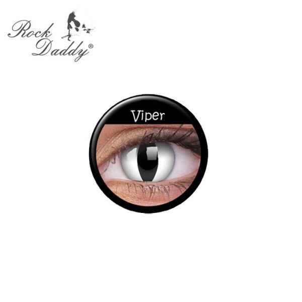 Kontaktlinsen<br> Viper ohne Stärke,<br>weiche, Jahreslin