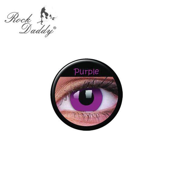 Kontaktlinsen<br> Purple ohne<br> Stärke, weiche, ...