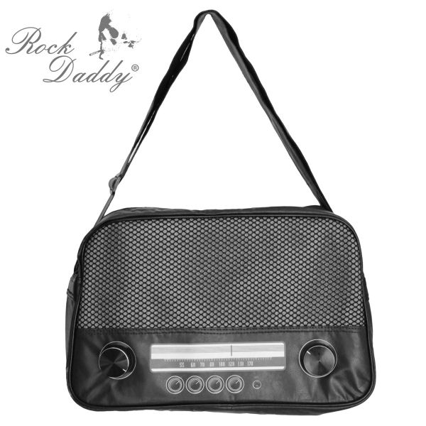 Radio Bag Large in Black