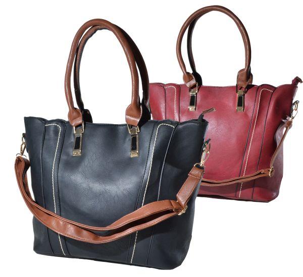 Fashionable<br> Handbag - Colored<br>Handles