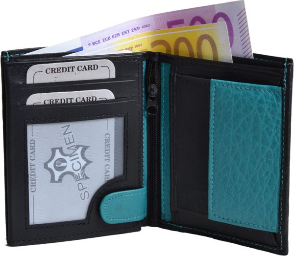 Wallet / Purse<br> High 2-colored<br>nappa leather
