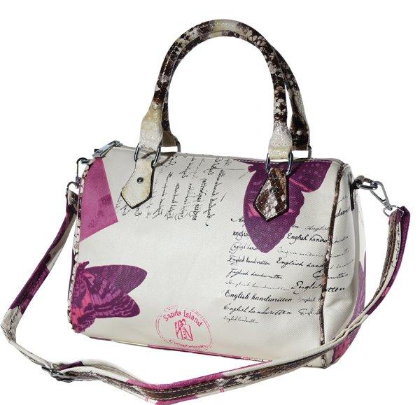 Handbag butterfly<br> motif - Top Trend<br>Bag