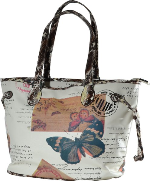 Handbag butterfly<br> motif - Top Trend<br>Bag