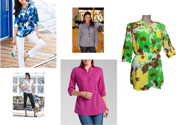 Blouses and tunics<br>mix for women