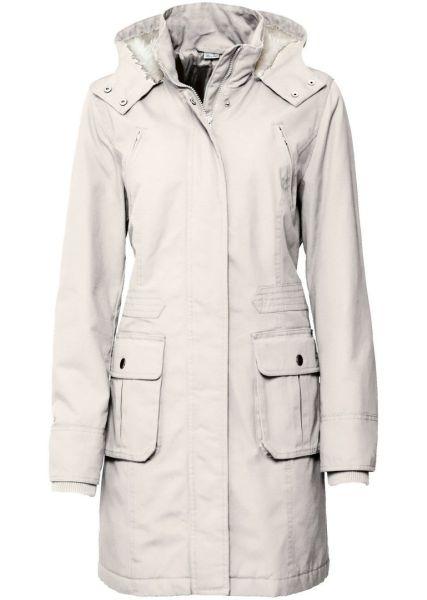 Parka Short Coat<br>Off-White