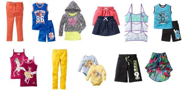 Kinder Bekleidung<br> Mix 4 Jahreszeiten<br>Mädchen und J