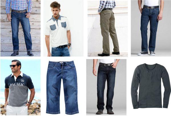 Herren Marken Mix<br> Bekleidung Hemd<br>Jeans T-Shirt Ho
