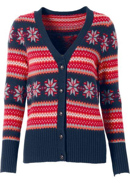 Norwegian sweater<br>blue red