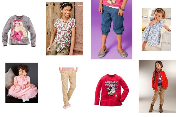 Kids Brands<br> Clothing Mix for<br>Girls &amp; Boys