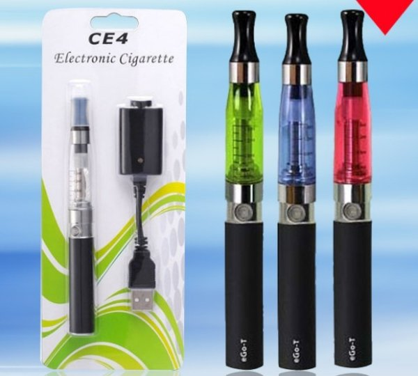 Electronic<br> cigarette ego c4<br>presentation blist
