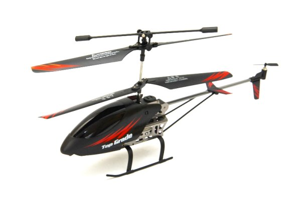 RC 3 Channel Mini<br> Helicopter,<br>aluminum  CX031  -G