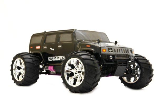 RC Verbrenner<br> Hummer Monster<br> Truck 1:10 70 km/h ...