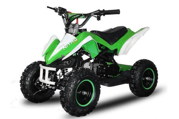 Python 49cc<br> electric start<br> mini quad atv kids ...