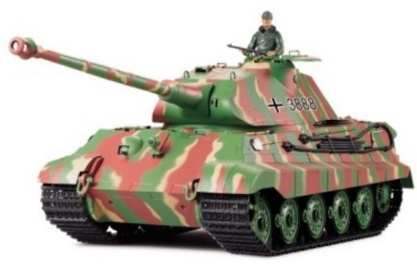 RC Tanks  German King Tiger  1:16 Heng Long