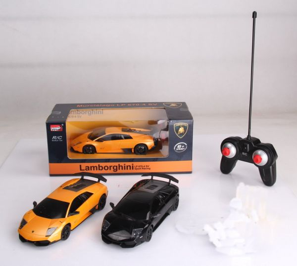 RC Car Lamborghini<br> Murcielago with<br>License - 1:24
