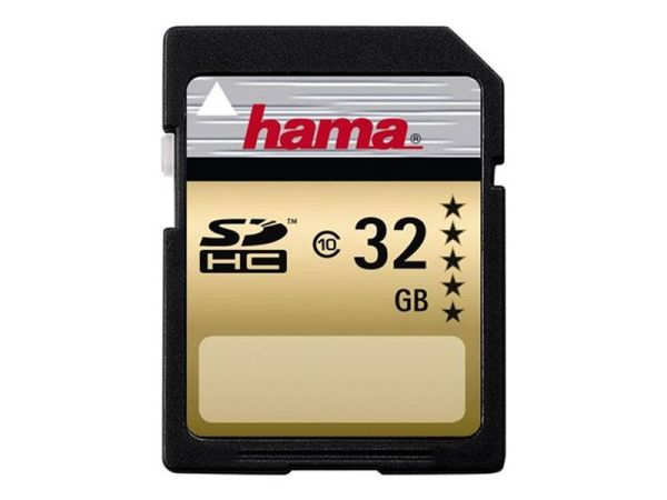 SDHC 32GB HAMA<br>CL10 Blister