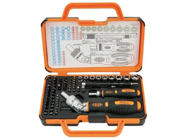 Jakemy JM-6111<br> screwdriver &amp;<br>Ratchet Set (69