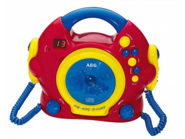 AEG Sing Along CD<br> Player CDK 4229<br>Kids Line