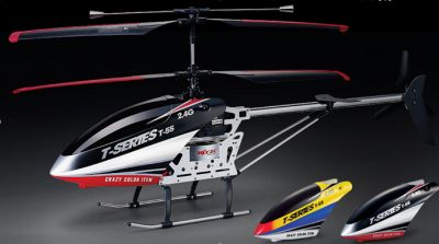 RC 3D Helicopter,<br> 3.5 channel  T655 <br>2.4GHZ-GYRO