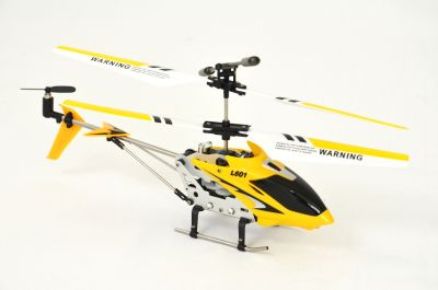 "RC 3D Mini Helicopter, aluminum ""L601"" G"